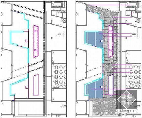 [安徽]中学新校区绿化工程预算书(全套图纸软件应用文件)-庭院绿化详图