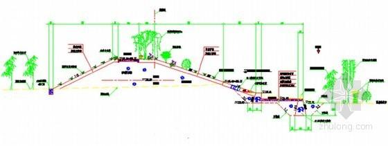 护岸、堤防典型断面图