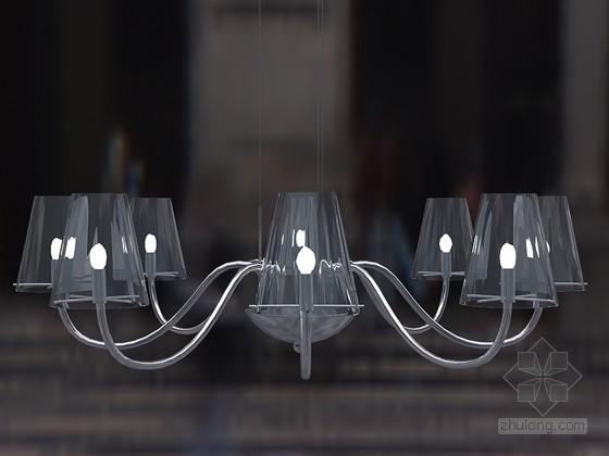 花式时尚吊灯3D模型下载