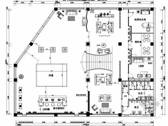[山西]新古典售楼处软装室内设计配饰方案