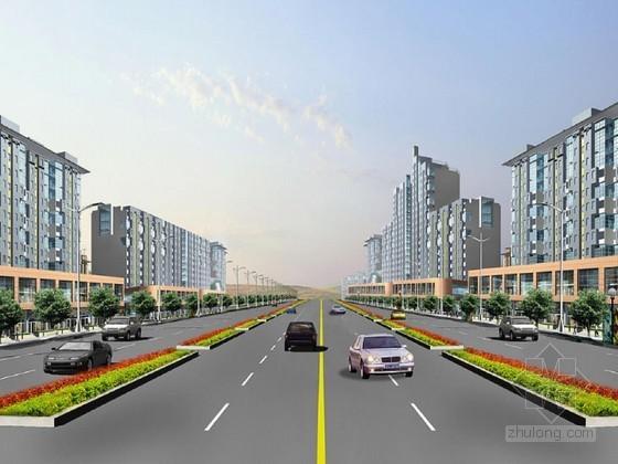 市政道路工程施工组织设计(2013 城市二级次干道)