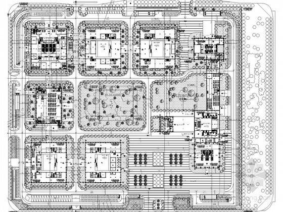 [安徽]高级经济管理部门电气图纸