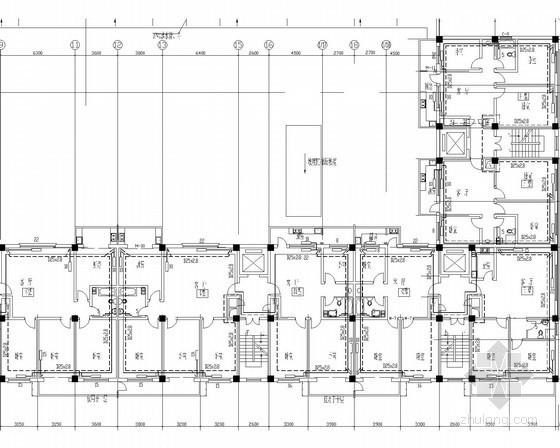 高层商住建筑空调通风防排烟系统设计施工图(数字定压机组)