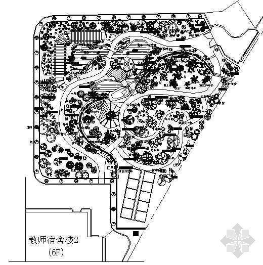 广东一生物园施工图纸
