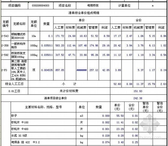 [江苏]2012年商城智能化系统工程量清单报价(全套)