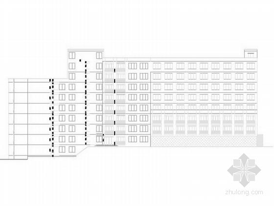 某七层中式学生宿舍建筑施工图