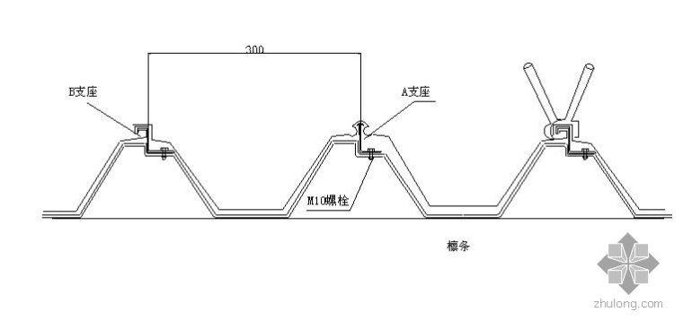 上海某钢厂钢结构厂房压型钢板施工方案