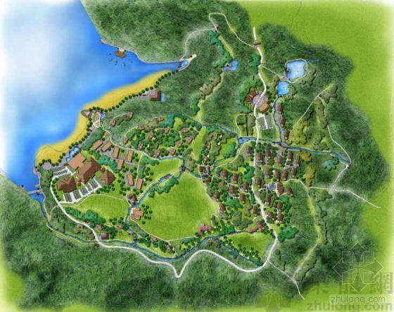 浙江杭州生态农业观光园景观设计方案