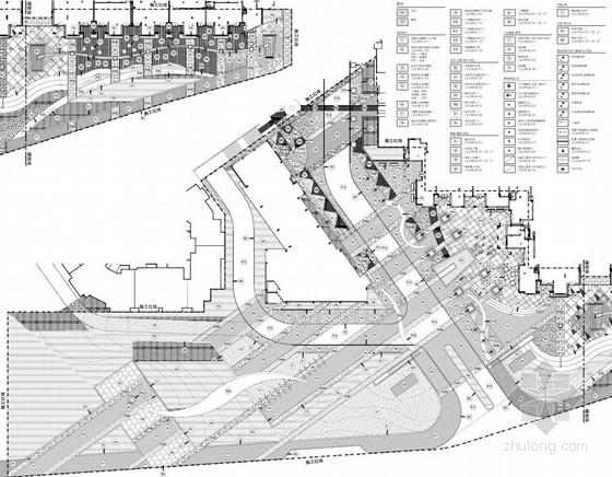 [大连]市政绿化带及售楼处入口广场景观扩初设计方案