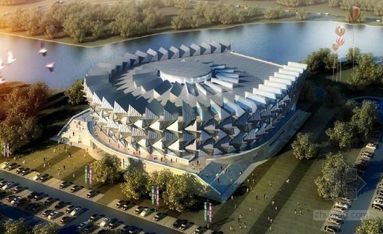 [河南]框架结构及钢结构体育馆工程优秀施工组织设计(260余页 附图)