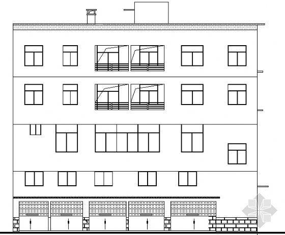 某不规则住宅建筑施工图