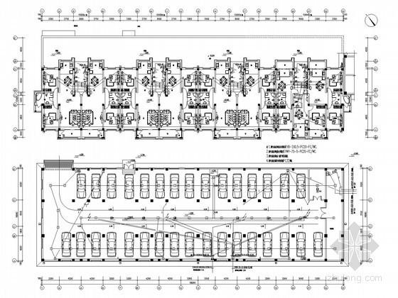 [辽宁]大型综合商业住宅楼全套电气施工图纸