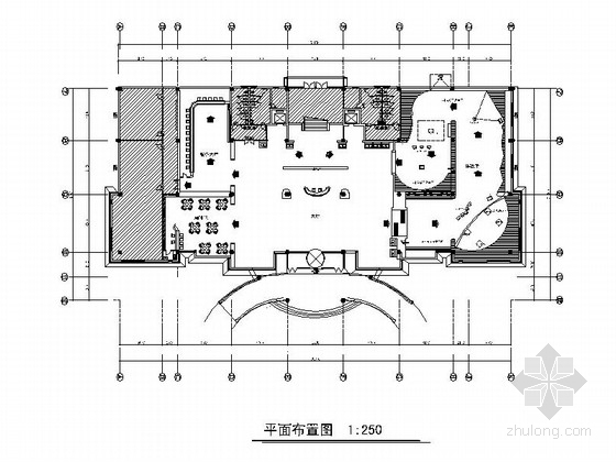 [天津]现代风格创新创业园体验展示中心CAD施工图