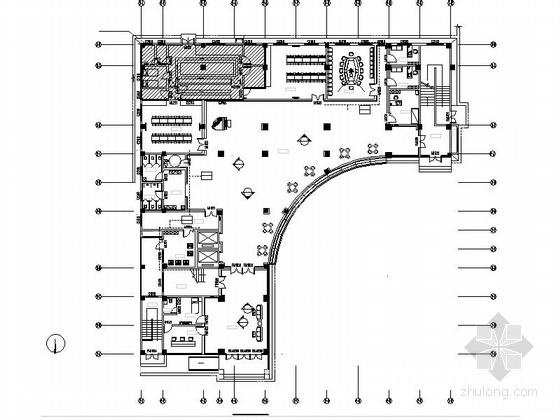 [湖南]高新区五层现代敬老院室内设计装修施工图