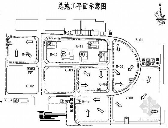 [广东]土钉锚杆基坑支护监测施工方案(cad图  地质资料 )