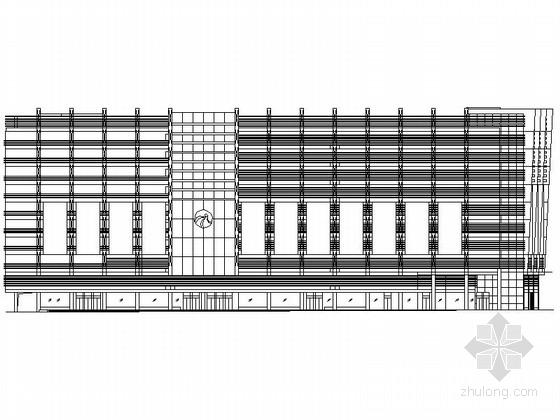 某十层大型商场建筑施工图