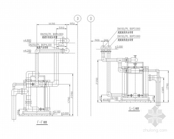超滤系统安装图