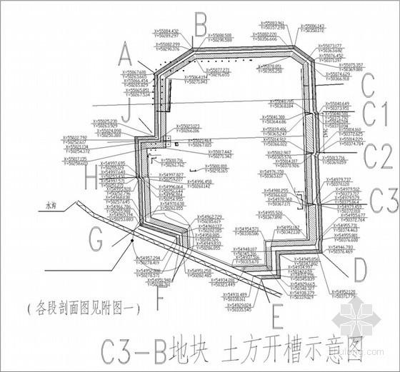 [济南]高层住宅小区基坑土方开挖工程施工方案(开挖深度约为6.3~7.45米)