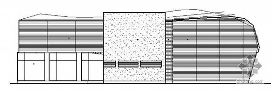 常州市某市区展示中心建筑方案图