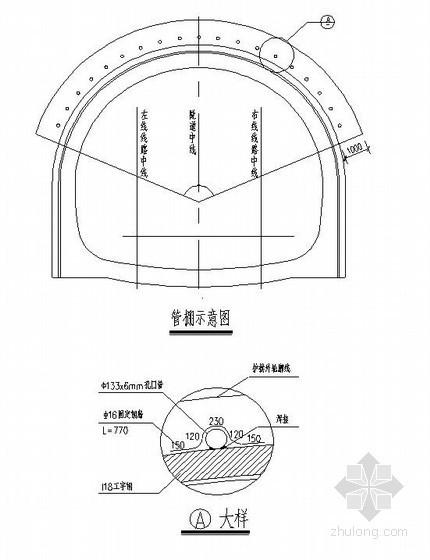 重庆轨道交通明洞洞口施工技术方案(超前管棚 )