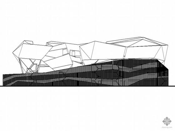 [2010上海世博会]东欧某国家馆(C片区)建筑施工图(含效果图及设计说明)