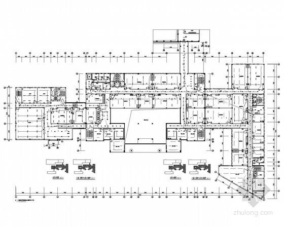 [辽宁]能源研究院实验楼强弱电施工图62张(系统全面 甲级设计院)