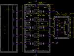 自来水厂二泵房平面图