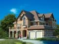 三层美式别墅户型图