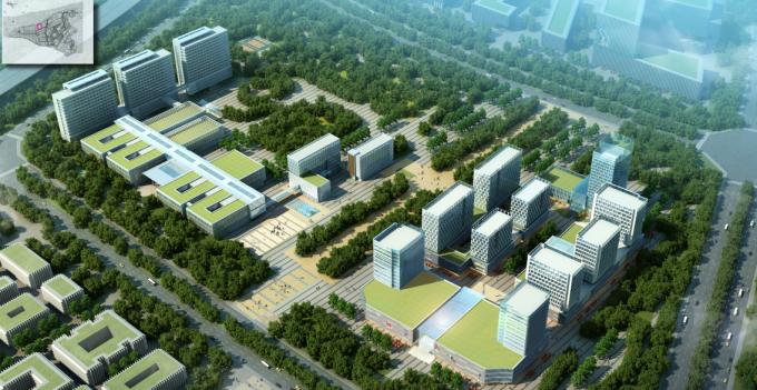 """[海南]""""产城融合""""生态海洋高新技术产业园区城市景观规划设计方案_3"""
