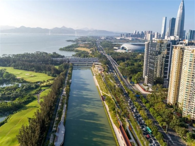 深圳大沙河景观