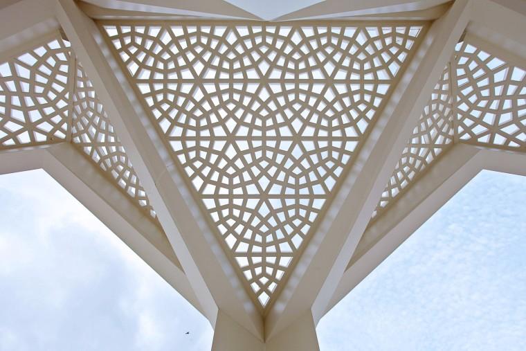 土耳其马尔马拉大学神学系清真寺-6