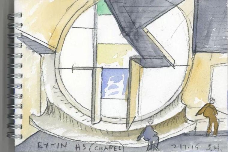 斯蒂文·霍尔在中国的首个作品展,向我们摊开了他个人的手绘本_57