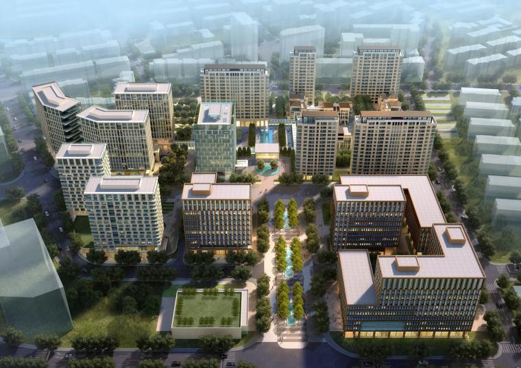 [上海]杨浦区创智天地精品酒店及公寓式建筑方案文本设计(PDF+105页)
