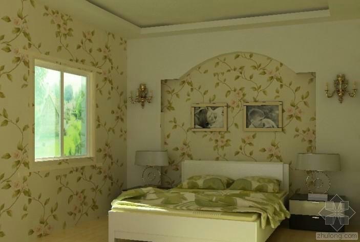 田园风格卧室装修案例分享