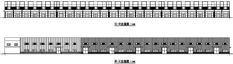 1、3、4号车间门式刚架钢结构施工图(CAD,22张)_5