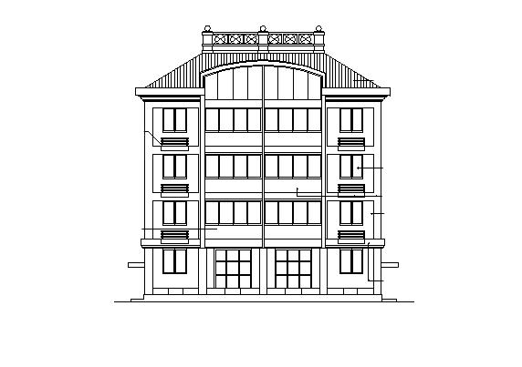 170套別墅新農村自建房建筑施工圖
