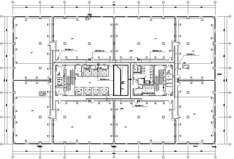 广东省科技办公楼电气施工图纸