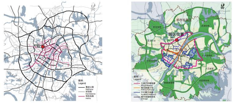 [湖北]武汉园博会景观规划设计方案文本-[湖北]武汉园博会景观规划设计文本 A-1上位规划