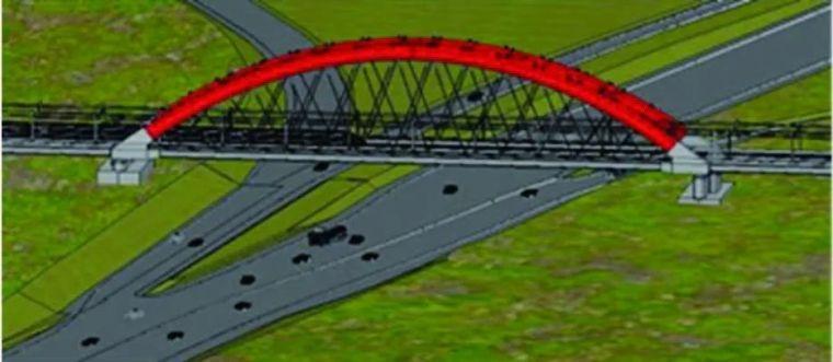 BIM 在高铁简支梁拱组合体系桥施工中的应用