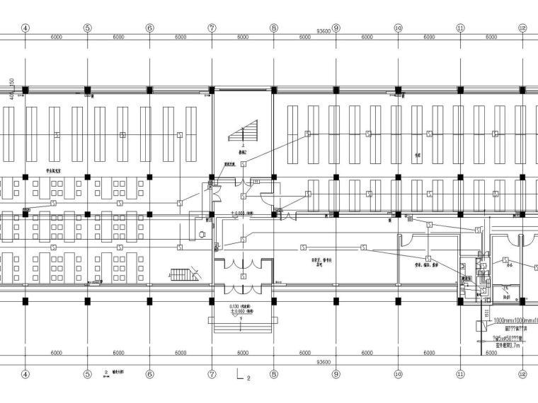 [山西]重点中学新校区建筑群全套强弱电图纸(13栋楼、311张)_4