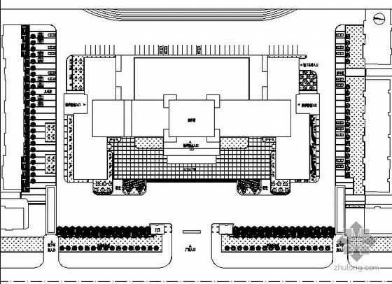 大学广场全套施工图