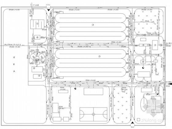 UASB工艺污水处理厂资料下载-污水处理厂工艺图纸