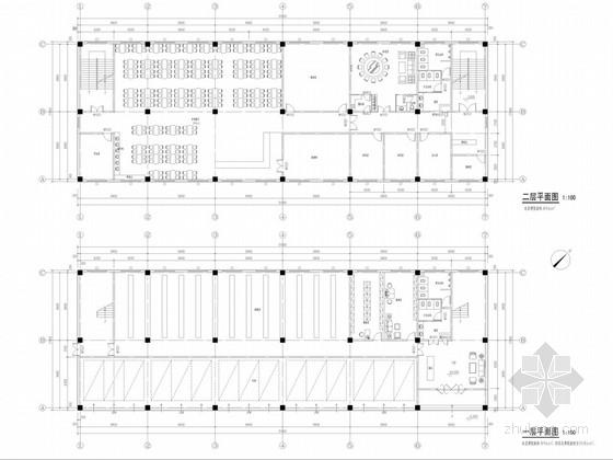 [陕西]专业化金融服务机构现代办公楼装修设计方案