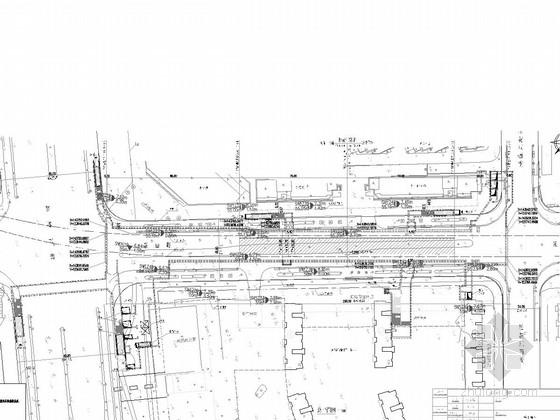 [江苏]6个出入口地下两层岛式站台车站工程设计图纸112张(含通风空调消防照明给排水)