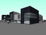 传统元素与现代建筑资料免费下载