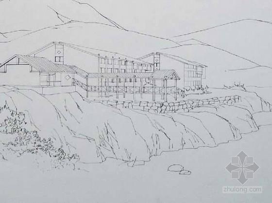 [课程设计]某山地旅馆设计