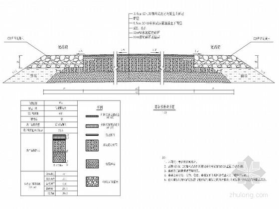 6.5m宽双车道农村公路工程全套施工图(112张 道路 桥涵)
