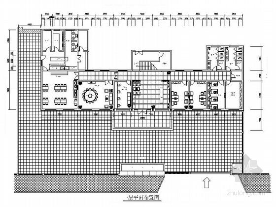 [山东]精装现代风格四层办公楼室内装饰施工图