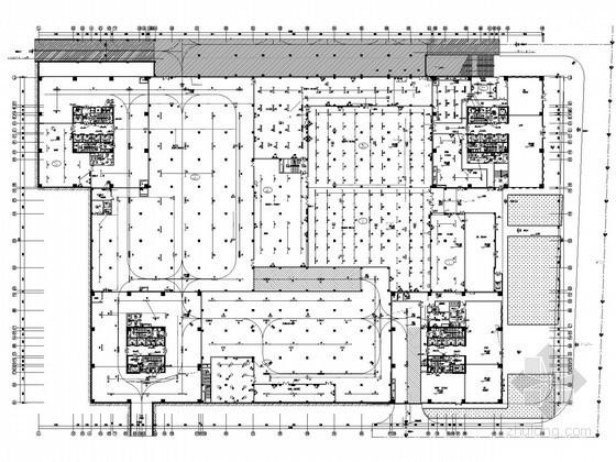 [重庆]大型商务区建筑群全套电气施工图纸106张(含安装工程量清单)