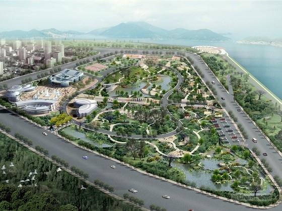[湖南]大型文化公园规划及单体设计方案文本
